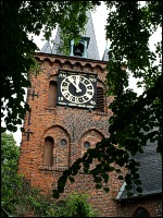 Turm der Kirche St. Andreas in Schlutup